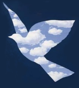 magritte-dove